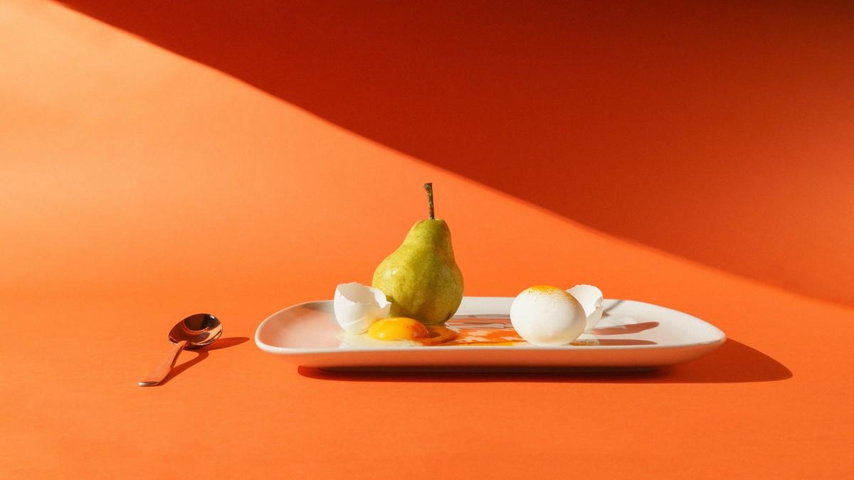 Dělená strava v praxi, kterou prezentuje jídlo na talíři.