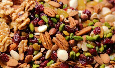 Ořechy fungují jako vynikající přírodní stimulanty.
