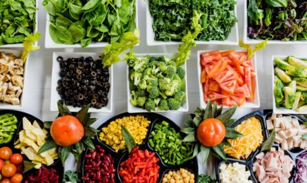 Spousta zeleniny, kterou Vám doporučí výživový poradce.